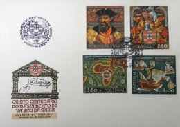 PORTUGAL, FDC AF 1059-62 Yv 1069-72, Available Cancels L / P. - FDC