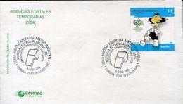 25581 Argentina, Special Postmark 2005 German World Cup 2006 - 2006 – Germania