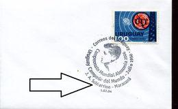25583 Uruguay, Special Postmark 2006  J.a. Schiaffino Football Player, Maracana - Brieven En Documenten