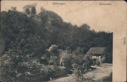 Ansichtskarte Hemer Burg Klusenstein, Haus - Hönnetal 1912 - Hemer