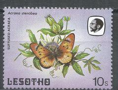 Lesotho 1984. Scott #428 (MNH) Sulfused Acraea, Butterfly, Papillon - Lesotho (1966-...)