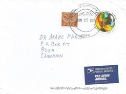 USA 2015 Louisville Climate Change Censored Cover To Cameroun - Cartas