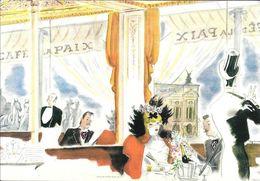 BRASSERIE DU CAFE DE LA PIX 12 BOULEVARD DES CAPUCINES PARIS PUBLICITE EDITEUR LES FILS DE VICTOR MICHEL RARE - Werbung