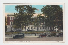 MUNICIPAL BUILDING / WINSTON SALEM - N.C. - Winston Salem