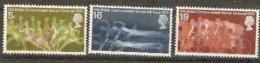 Great Britain 1970 SG 832-4 Commonwealth Games Unmounted Mint - 1952-.... (Elizabeth II)