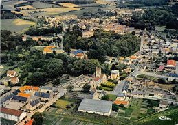 02-VIC-SUR-AISNE- VUE GENERALE AERIENNE - Vic Sur Aisne