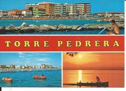 GISCA316 - TORRE PEDRERA - F.G. -  VIAGGIATA 1986 - Rimini