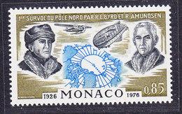 Monaco 1982 Byrd & Amundsen 1v ** Mnh (36801A) - Postzegels