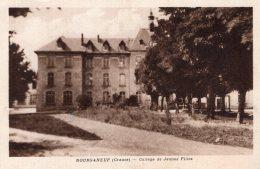 B35973 Bourganeuf, College De Jeunes Filles - Unclassified