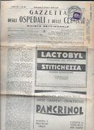 GAZZETTA DEGLI OSPEDALI E DELLE CLINICHE CIRCOLAT A BUENOS AIRES L'ARGENTINE ANNO 1935 - XIII COMPLETA COMPLETE 24 PAGES - Italia