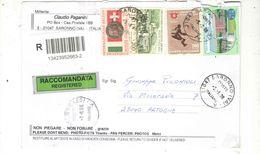 Italia 2008 Busta Viaggiata Italia Con Bolli Ord.Prioritaria Racc.Espresso See Scan - 6. 1946-.. Repubblica