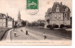 Beuzeval-Houlgate - L'ENtrée En Ville Et Le Temple Protestant - Houlgate
