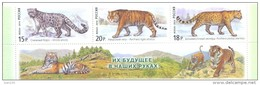 2014. Russia,  Wild Cats, Set Wih Labels,  Mint/** - 1992-.... Federation