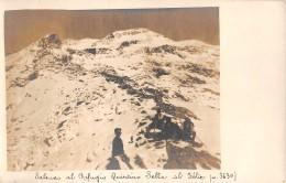 """07080  """"SALENDO AL RIFUGIO QUINTINO SELLA AL FELIX (M.  3630) - (AO)"""" ANIMATA. FOTOCART. ILL. ORIG. NON SPED. - Otras Ciudades"""