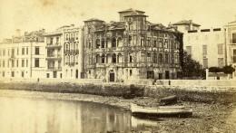 France Saint Jean De Luz Maison De L'Infante Joanoenia Ancienne Photo CDV Konarzewski 1870 - Ancianas (antes De 1900)