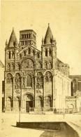 France Angouleme Cathédrale Saint-Pierre Ancienne Photo CDV Godard 1870 - Photographs