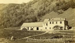 France Hospice De France Port De Venasque Pres De Luchon Ancienne Photo CDV Soule 1870 - Photos
