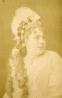 France Paris Opera Soprano Theresa Tietjens Ancienne Photo CDV Nadar 1870's - Alte (vor 1900)