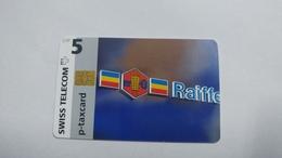 Switzerland-(stpc-bq-018)-raiffeisen Bank-(5chf)-(privat Chip)-tirage-1.000-used Card - Schweiz