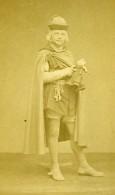 France Paris Theatre Acteur Poupee Et Cles Ancienne Photo CDV Carjat 1870 - Old (before 1900)