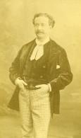 France Paris Theatre Acteur Louis Arsene Delaunay Ancienne Photo CDV Reutlinger 1870's - Photographs