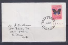 Papua New Guinea 1967 Cover (WEST GOROKA Postmark) - Papouasie-Nouvelle-Guinée