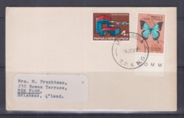 Papua New Guinea 1967 Cover (MAGARIDA Postmark) - Papouasie-Nouvelle-Guinée