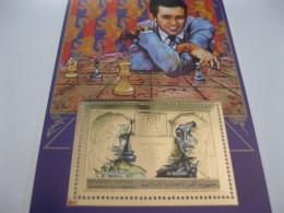 Comoros Comores-1999-Sports Chess GOLD-BL.349 - Comoros