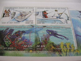 Comoros Comores-1999-fish,diving-BL.1771-72 - Comoros