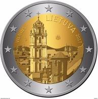 Litauen 2017 Vilnius Hauptstadt Stadt Kunst Gedenkmünze 2 Euro  1 COIN IN STOCK - Lituanie