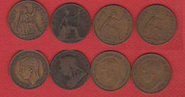 Angleterre    / Lot De 4 X 1 Penny - Great Britain