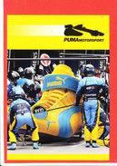 PUBLICITE  PUMA Motorport Cpm - Grand Prix / F1