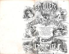 Chante Malheur, Chanson, Mélodie, Partition Ancienne, Petit Format, Couverture Illustrée Barbizet. - Scores & Partitions