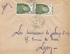 Guinee Guinea 1950 Dinguiraye Hexagonal AOF Woman Cover - Guinee (1958-...)