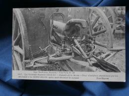 Guerre 1914  Pièce Artillerie Abandonnée Par Les Allemands à La Ferte Milon - Phot-Express 307 - Circulée 1915 - R166 - War 1914-18