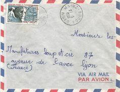 Niger 1959 Maine-Soroa AOF Telecommunication Postal Day Cover - Niger (1960-...)