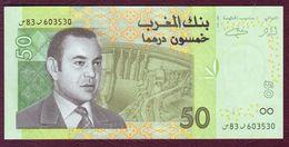 MAROC - 50 DIRHAMS Mohammed VI - 2002 - Maroc