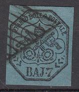 Pontificio - 7 Bajocchi - Stato Pontificio