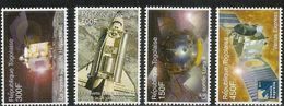 2006 Togo Togolaise Space Achievements Complete Set Of 4 + 4 Sheets MNH - Togo (1960-...)
