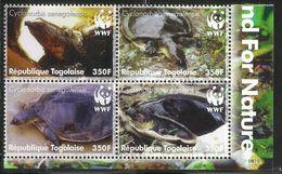 2006 Togo Togolaise WWF Turtles Reptiles Block Of 4  Complete MNH - Togo (1960-...)
