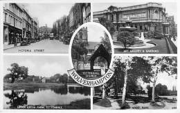 UK ENGLAND ( Staffordshire)  - WOLVERHAMPTON : Multiviews - CPSM Photo Petit Format ( Angleterre ) - Wolverhampton