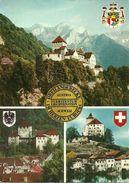 Liechtenstein Schloss Vaduz Fuerstentum, Austria Schattenburg Feldkirch Vorarlberg, Schweiz Schloss Werdenberg Buchs SG - Liechtenstein