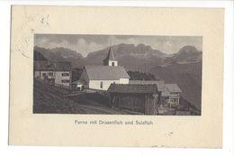 17642 - Furna Mit Drusenfluh Und Sulzfluh - GR Grisons