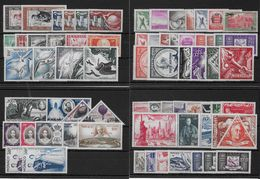 MONACO - POSTE AERIENNE 1933/1959 COMPLETE SAUF 66/68 - YVERT N° 1/72 * CHARNIERE LEGERE - COTE = 873 EUROS - Poste Aérienne