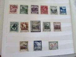 ZLIECHTENSTEINo94+ - LIECHTENSTEIN 1930 Série Complète N° 94 à 107 - Qualité LUXE - - R A R E - Côte > 600.00 EUROS - Liechtenstein