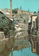 Luxembourg, L'Alzette Pittoresque Au Grund Avec Ville Haute - Esch-Alzette