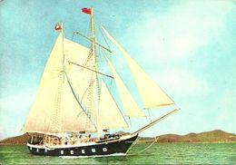 Hong Kong, Hongkong Hilton, Brigantine Wan Fu, Modern Reproduction Of The British Royal Navy's Brigantine - Cina (Hong Kong)