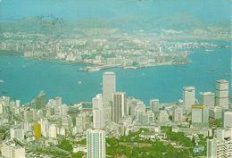 Hong Kong, Hong Kong & Kowloon From The Peak - Cina (Hong Kong)