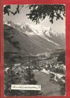 ARGENTIERES - Haute Savoie - Vue Vers Le Mont-Blanc Et Le Glacier Des Bossons - CPM - France