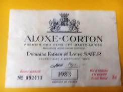 5255 -  Musigny, Chambolle-Musigny Corton Charlemagne,Pommard,Aloxe Corton Vosne Romanée ..... 10 étiquettes Dès 1972 - Bourgogne